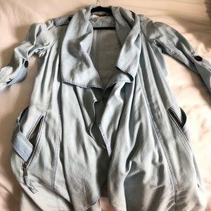 Denim coat/cardigan/trench coat
